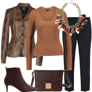 Outfit La giacca animalier