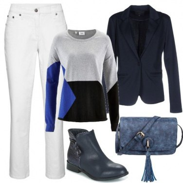 Outfit Outfit Basic #1138-2018