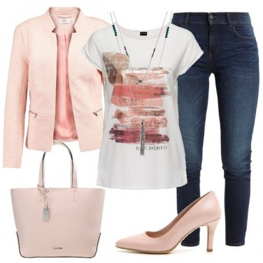 Outfit T-shirt e giacca