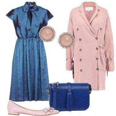 Outfit Plissè e ballerine