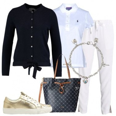 Outfit Il cardigan in cachemire