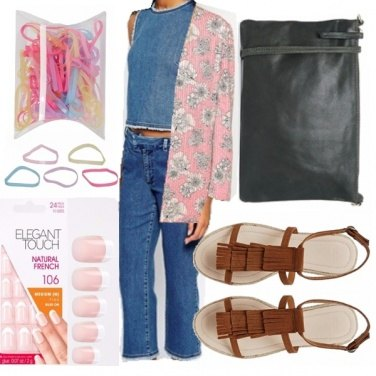 Outfit Modern hippie