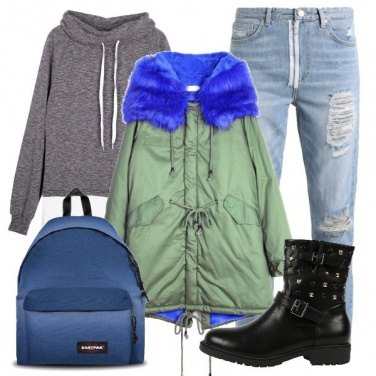 Outfit Il parka protagonista