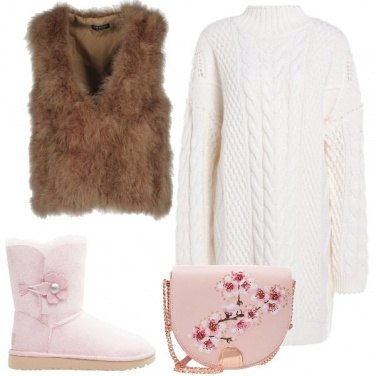 Outfit Bella e floreale