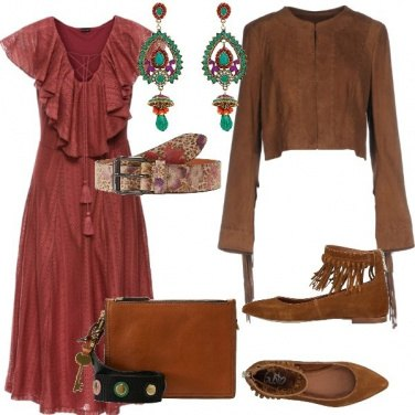 Outfit Etnico fashion