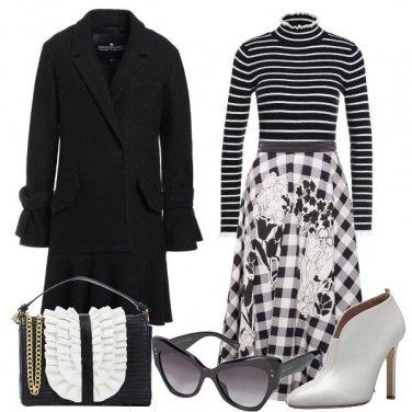 Outfit Bon Ton Black & White