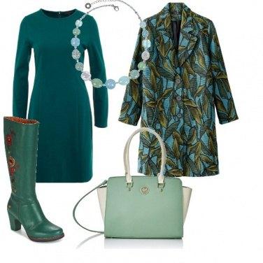 Outfit Fiori sullo stivale
