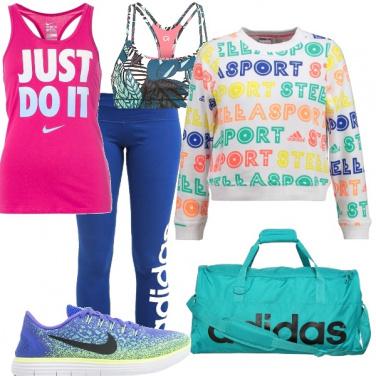 Outfit Tripudio di colori