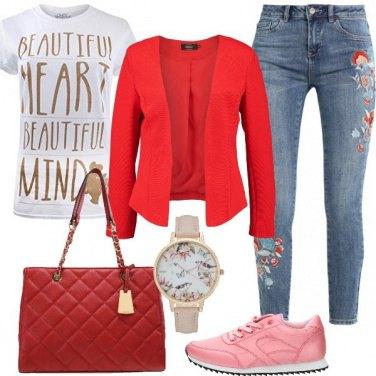 Outfit Trendy con la t-shirt