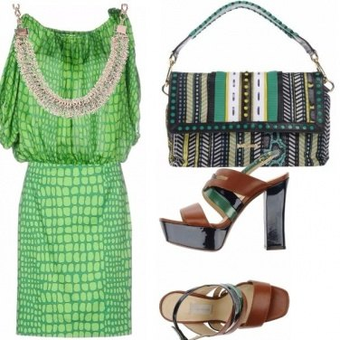 Outfit Green flash