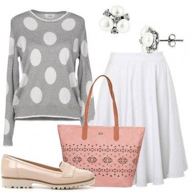 Outfit Oggi a pois