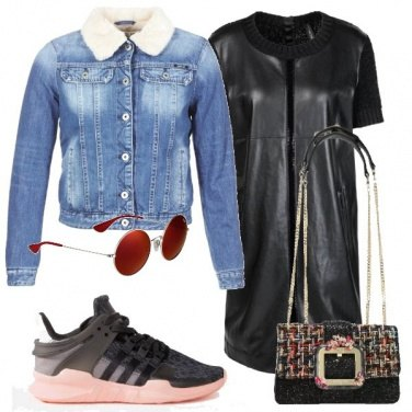 Outfit Trendy sneakers