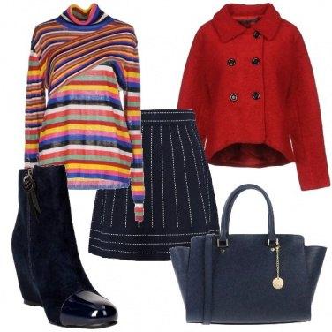 Outfit Coppia di righe