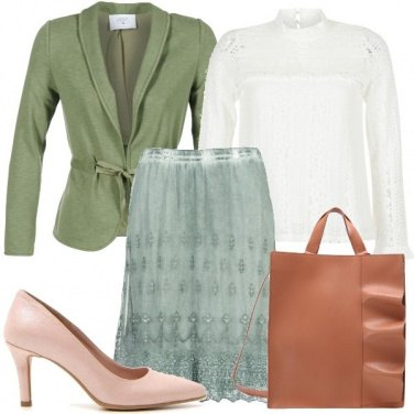 Outfit Accenni in verde