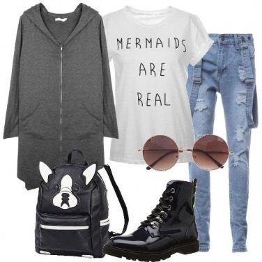 Outfit Sirene urbane