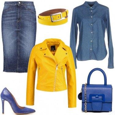 Outfit Stravolgimi di giallo
