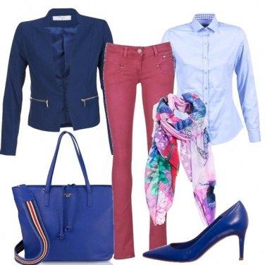 Outfit La sciarpa colorata
