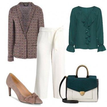 Outfit La giacca fantasia