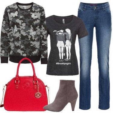 Outfit Una simpatica t-shirt