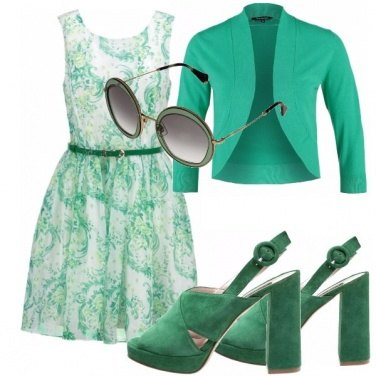 Outfit Abitini mania green day