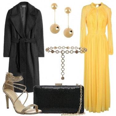 Outfit Giallo di sera