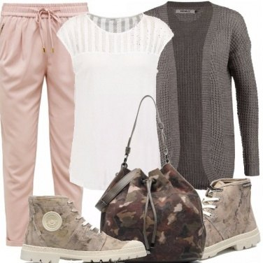 Outfit Casual in camo