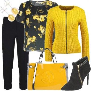 Outfit Fiori gialli