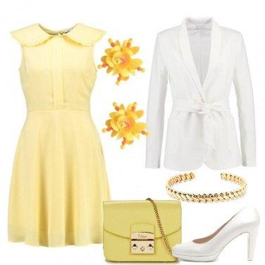 Outfit L\'abito giallo