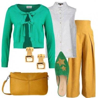 Outfit Incontro di colori