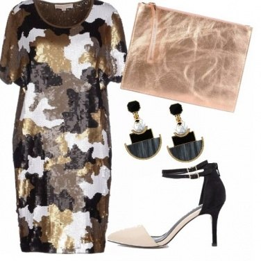Outfit Gold camo