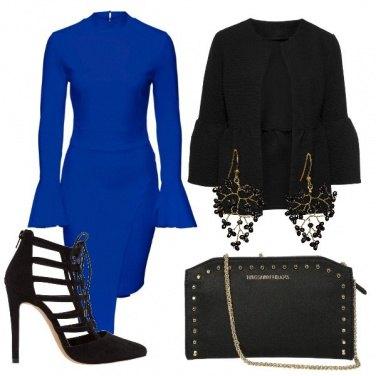 Outfit Elegante in blu