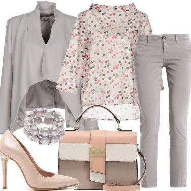 Outfit La blusa a pois