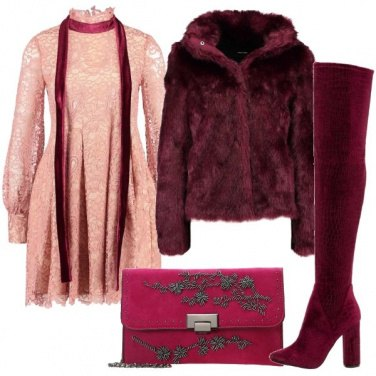Outfit Pizzo e cuissard