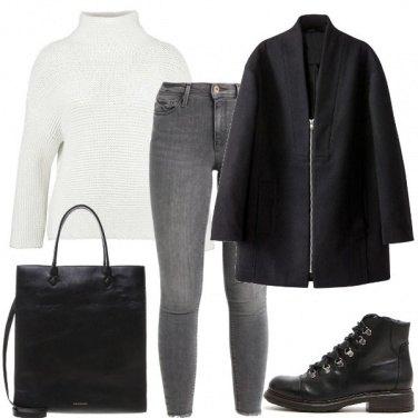 Outfit Basica ma ricercata