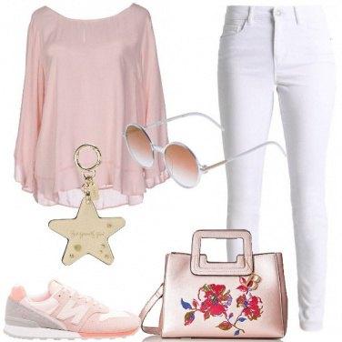 Outfit Fiori e stelle