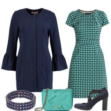 Outfit Blu e turchese