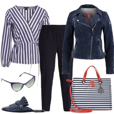 Outfit Le righe