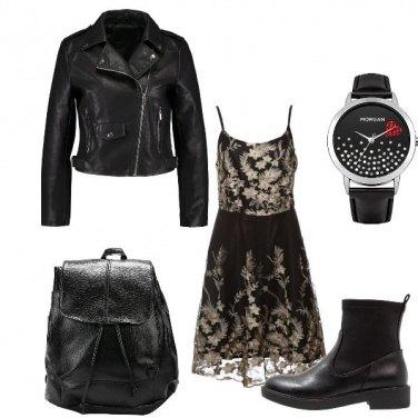 Outfit Rock da sera