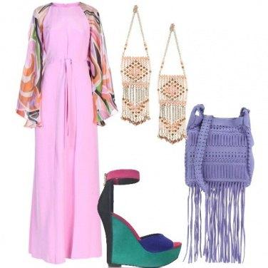 Outfit Frange e colore