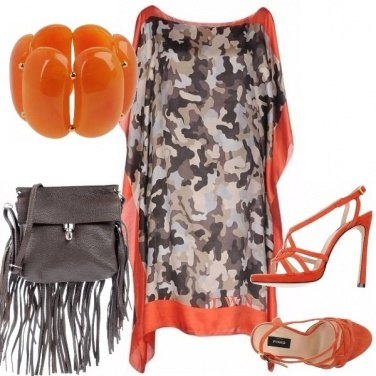 Outfit Chic camouflage