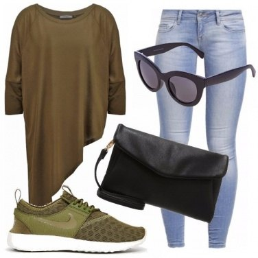 Outfit Camouflage sportivo