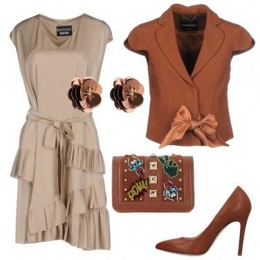 Outfit Color cioccolato
