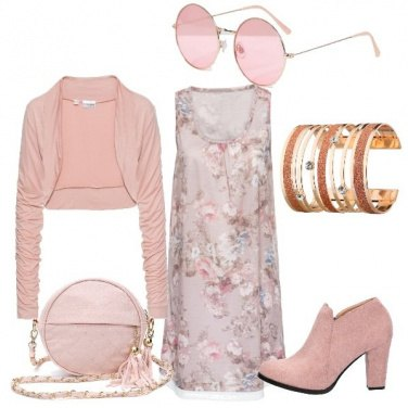 Outfit Idee rosa