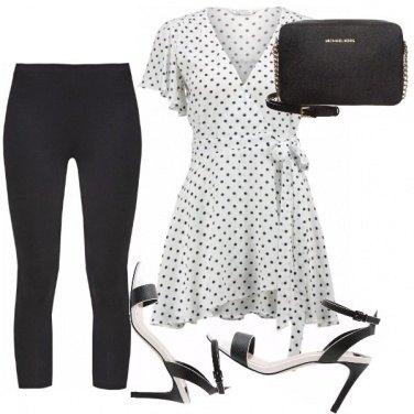 Outfit L\'abito petit sui leggings