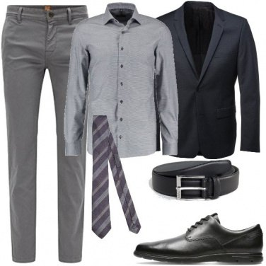 Outfit Business Elegante 137 2018 Outfit Uomo Business