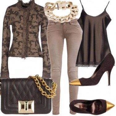 Outfit L\'eleganza del mimetico