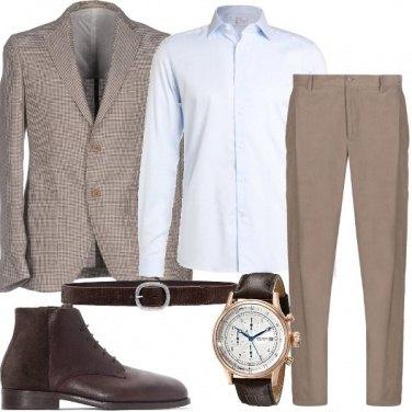 Outfit Lo stivaletto marrone