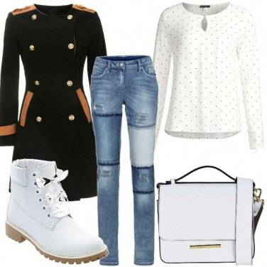 Outfit Jeans e scarponcino