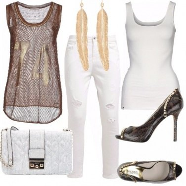 Outfit Bianco grintoso