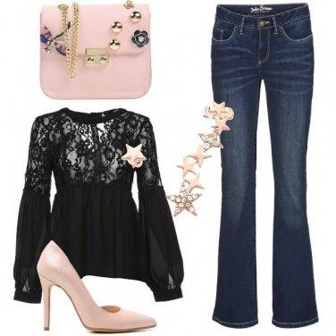 Outfit Qualcosa di rosa